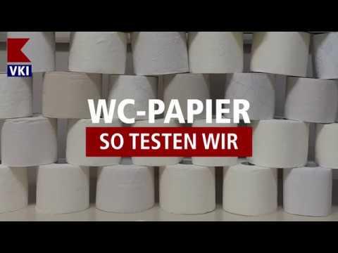 Test: WC-Papier (Blick hinter die Kulissen)