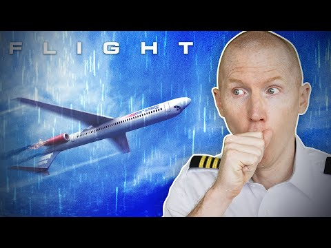 Passenger Plane Flies Upside Down - Flight | Hollywood vs Reality