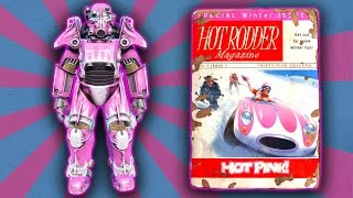 Fallout 4 - Hot Rod Hot Pink Power Armor Paint - Walkthrough Guide