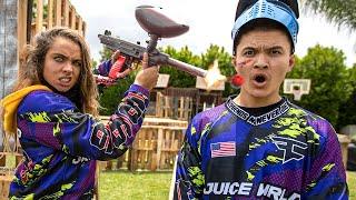 We Built A Paintball Arena In Our Backyard - FaZe Clan