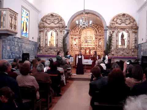 Atuação das Louçanas na igreja de São Brás em Samouco