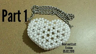How to make beaded bag || Beaded purse || Kandy purse || Coin purse || Part 1