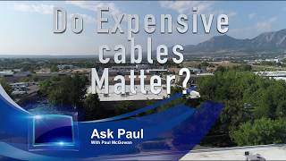 Do expensive cables matter?