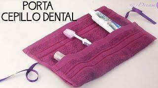 Haz un porta cepillo de dientes