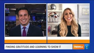 Finding Gratitude And Learning to Show It – Heather Hans 9News Denver