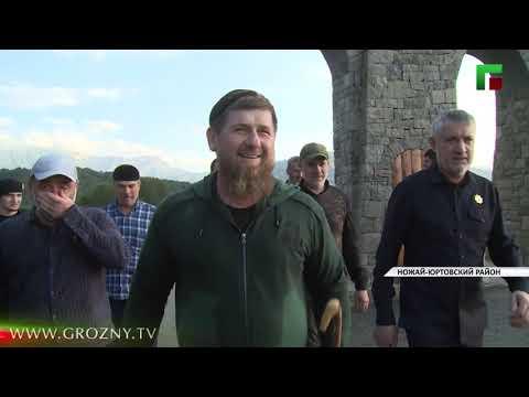 Рамзан Кадыров совершил прогулку по окресностям Беноя