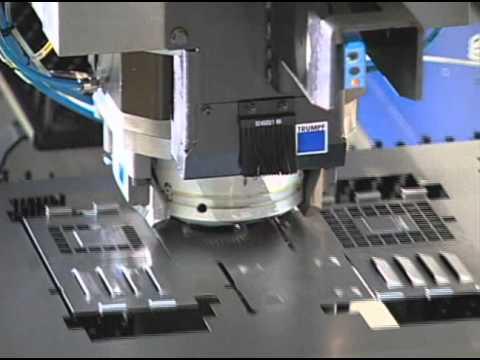 Watching This Machine Punching Through Metal = Total Satisfaction