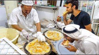 The DUBAI FOOD TOUR - BEST Street Food & RARE Emirati Cuisine in Dubai, UAE!