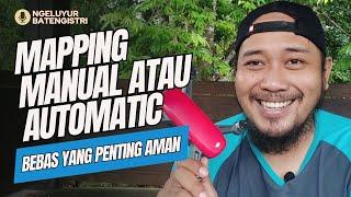 Pemetaan Manual atau Automatis Dengan DJI Spark Mavic Mini 1/2 Phantom 3/4 Arial Drone Pilih Mana