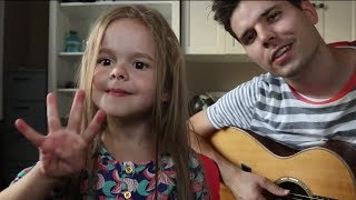 4-Year-Old and Her Dad Perform