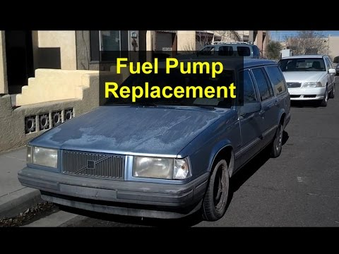 Fuel pump replacement, Volvo 740, 940, 240, etc. - VOTD