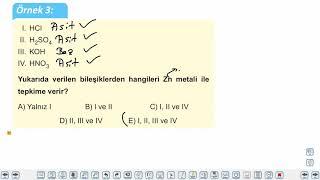 Eğitim Vadisi 10.Sınıf Kimya 17.Föy Asitler ve Bazların Tepkimeleri Konu Anlatım Videoları