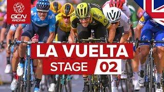 Vuelta a España 2019 Stage 2 Highlights: Let The GC Battle Begin  | GCN Racing