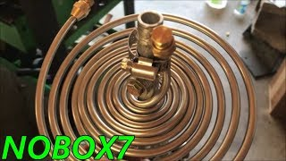 Make Extreamly  tight bends in stainless steel or copper tubing  using frozen soap water