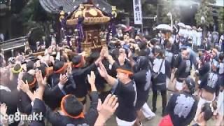 平成29年 牛嶋神社大祭 横網町会 宮入り参拝