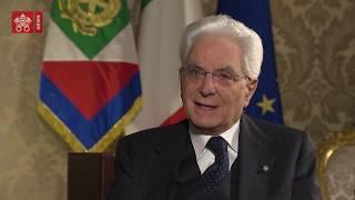 """Intervista Presidente Mattarella: """"L'Europa deve curarsi di più delle persone"""""""