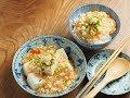 Une recette du tofu d'Otokomae Tofu par Kazuo Fujiyoshi ≪Otokomae Tofu à la sauce friteuse froide≫