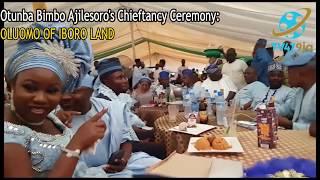 KWAM 1,Ogogo,Faithia Balogun,Muka Ray,Bukky Fagbuyi @ Abimbola Ajilesoro Chieftancy Ceremony