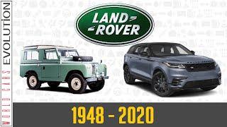 W.C.E. Land Rover Evolution (1948 - 2020)
