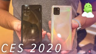 Samsung Galaxy S10 Lite and Samsung Galaxy Note10 Lite: Classic Samsung