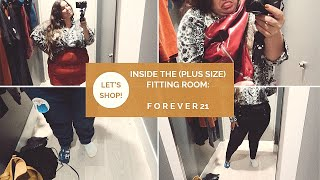 INSIDE THE (PLUS SIZE) DRESSING ROOM | Forever21 | and a denim rant...