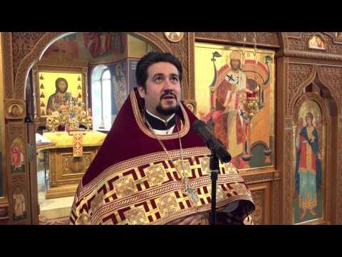 Прощальное богослужение о. Димитрия