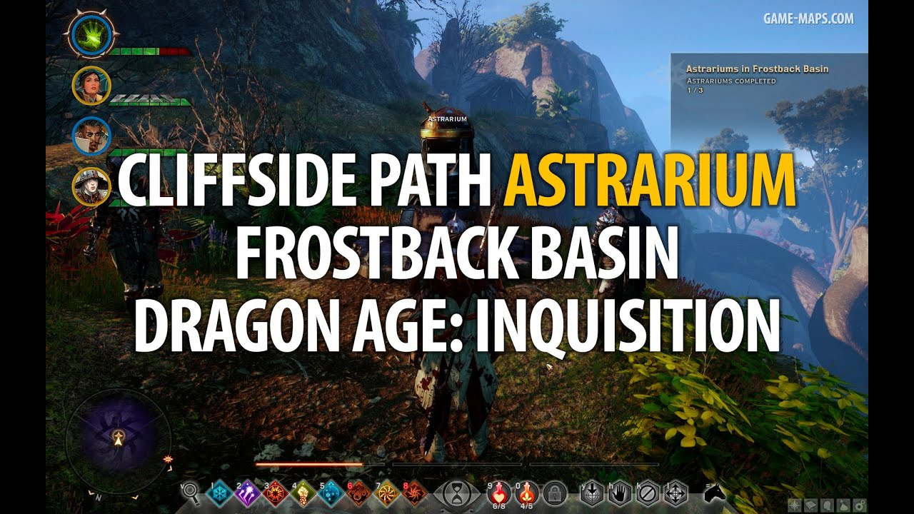 Frostback basin map jaws of hakkon dlc dragon age inquisition cliffside path astrarium frostback basin dragon age inquisition gumiabroncs Image collections