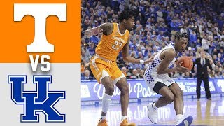 Tennessee Vs #6 Kentucky Highlights 2020 College Basketball