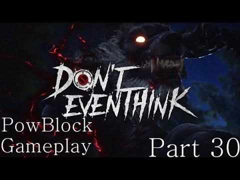 Hiding From Werewolves & Hunting - Don't Even Think Gameplay LIVE