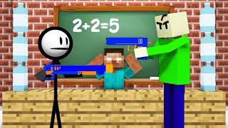 Monster School : BREWING BOTTLE FLIP CHALLENGE - Minecraft Animation