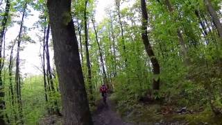 preview picture of video 'VTT - Descente single Orsay - Commencal Meta 5 5 - GoPro Hero 3 Black'