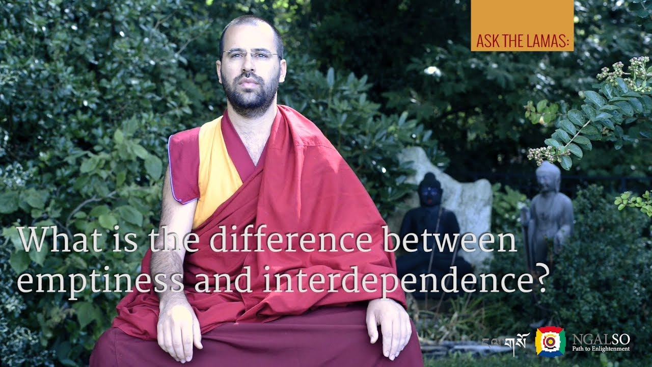 What is the difference between emptiness and interdependence?