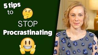 5 Ways to Overcome Procrastination!  Kati Morton