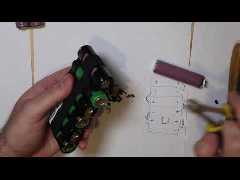 Extend Dyson battery twice capacity - Part 1 - смотреть