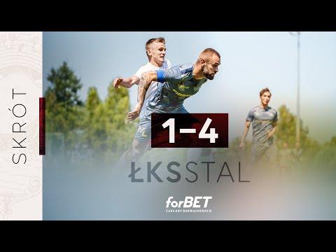 WIDEO: sparing Stal Rzeszów - ŁKS Łódź 4-1 [SKRÓT MECZU]