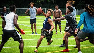 HE EXPOSED THEIR ENTIRE TEAM AND SCORED 8 TD'S! (BEST 7ON7 PERFORMACE EVER)