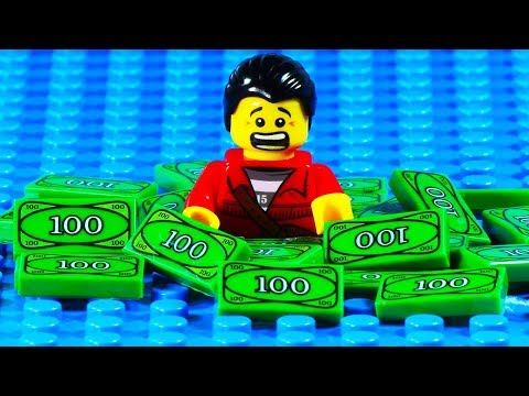 Lego Bank Robbery Escape Fail