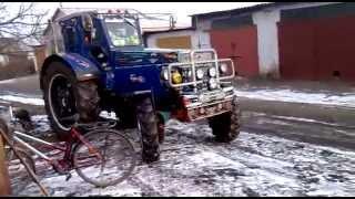 Колхозный тюнинг трактора
