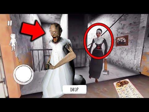 Evil Nun vs Granny Horror Game MULTIPLAYER... (Granny vs Evil Nun) (видео)