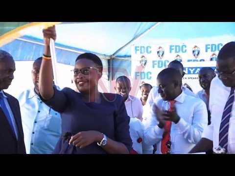 FDC party picks Nyanjura as candidate for KCCA speakership