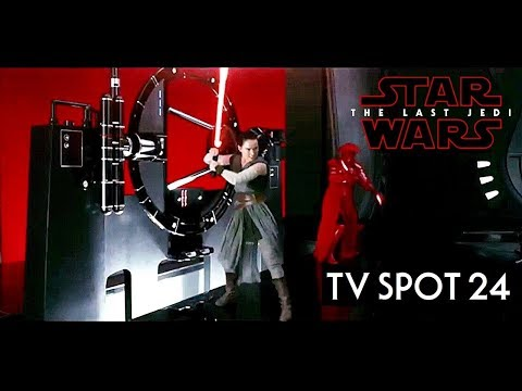 Star Wars The Last Jedi TV Spot Trailer 24 HD