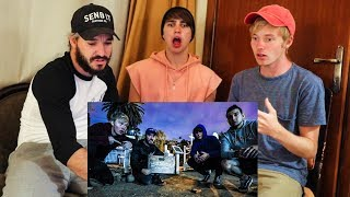 REACTING TO OVERNIGHT IN HAUNTED CEMETERY! (Ghost Found)