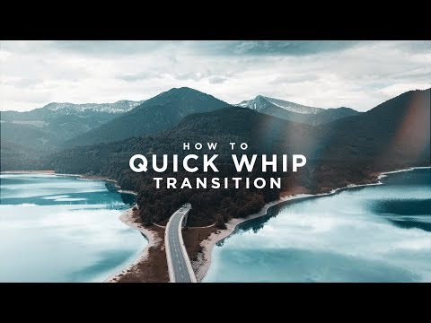 Quick Whip Transition Tutorial – Final Cut Pro X