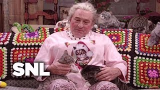 Christmas With The Cat Lady - SNL