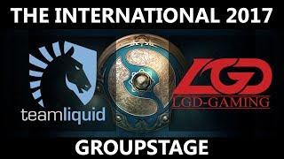 Team Liquid vs LGD GAME 1, The International 2017, LGD vs Team Liquid
