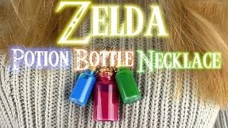 「DIY Zelda Potion Bottle Necklace」Charlie Linnell