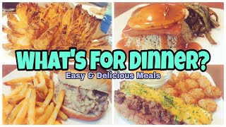 What's For Dinner? | Real Life Meal Ideas | Easy Recipes
