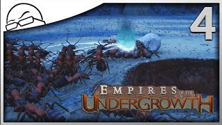 Wood Ants and Water! - Empires of the Undergrowth gameplay [Ep 4]