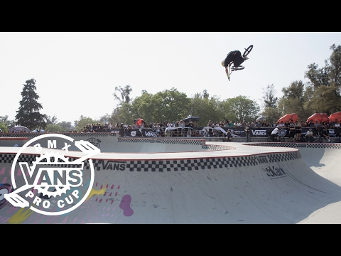 2017 Vans BMX Pro Cup Series: Larry Edgar - 2nd Place Run in Mexico | BMX Pro Cup | VANS