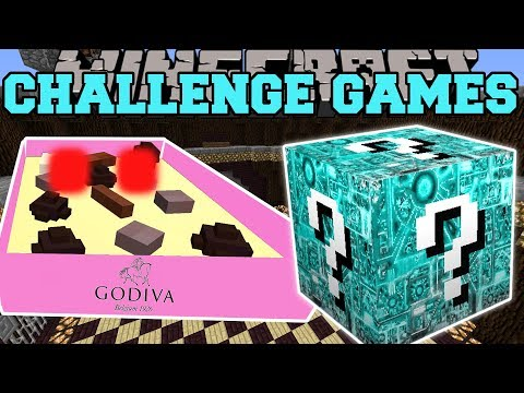 , title : 'Minecraft: BOX OF CHOCOLATES CHALLENGE GAMES - Lucky Block Mod - Modded Mini-Game'